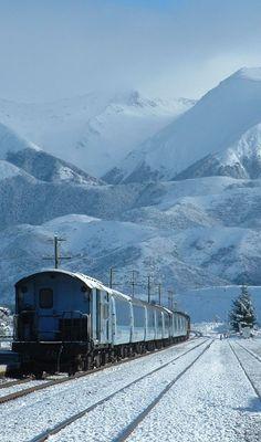 TranzAlpine Train - South Island, New Zealand