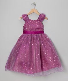 Take a look at this Magenta Sequin Dress - Toddler & Girls by Princess Diaries on #zulily today!