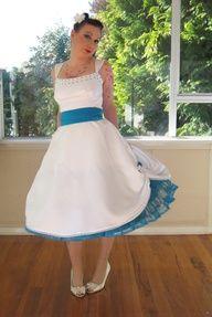 pin up wedding dress - Google Search