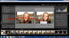 How to add a background to Free Lightroom Facebook Timeline Templates!