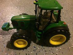 Kids Toy Boy/Girl John Deere Ertl Tractor with Sounds & Lights Nice  | eBay