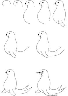 Finally, you can learn how to draw a cute cartoon fish made from a simple triangle, a dot and a few lines. Description from pinterest.com. I searched for this on bing.com/images