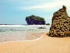 Jungwok Beach, Yogyakarta Borobudur Temple, Yogyakarta, Traveling, Wanderlust, Tours, Spaces, Explore, Vacation, World