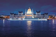 River cruise in Europe.