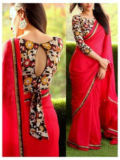 Cotton Saree Blouse Designs, Fancy Blouse Designs, Bridal Blouse Designs, Saree Jacket Designs Latest, Brocade Blouse Designs, Choli Blouse Design, Sari Design, Designer Kurtis, Designer Sarees