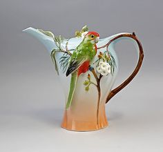 HAND PAINTED ROYAL OLD VIENNA PORCELAIN COFFEE POT