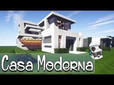 Minecraft casa moderna comece seu mundo tutorial e for Casas modernas minecraft 0 14 0
