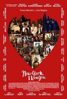New York, I Love You tells several stories of big-city love with a star-studded cast that includes Bradley Cooper, Natalie Portman, Justin Bartha, and I Love You Film, Loving You Movie, Love Movie, Natalie Portman, Justin Bartha, Great Films, Good Movies, Movies To Watch, Awesome Movies