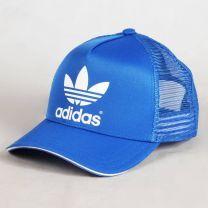 Adidas - AC Trucker Cap Bleu   Disponible sur UrbanLocker.com