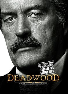 "Cy Tolliver -Cyrus ""'Cy"" Tolliver (Powers Boothe) is the owner of the upscale Bella Union saloon Hbo Series, Series Movies, Deadwood Tv Show, Powers Boothe, Deadwood South Dakota, Cinematic Lighting, Timothy Olyphant, Internet Movies, Movies Showing"