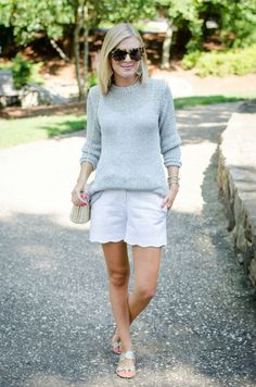 Even though we are currently in the dead heat of summer, I still have some lightweight sweaters in my closet. Seems crazy, right? Well when it is super hot you can count on every store and restaurant to be freezing cold. This loose-knit lightweight sweater is perfect for those chilly nights (or restaurants.) For the season …