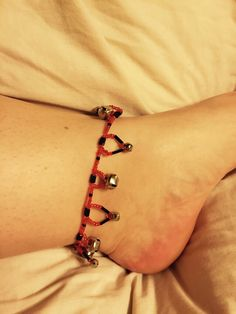Bell anklet!!   #bells #slave #play #kitten #puppy #bdsm #fsog #jewelry #ddlg #sub #dom