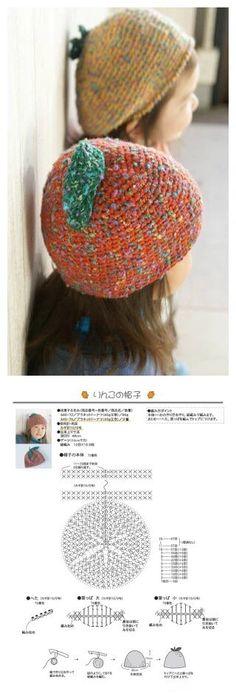 코바늘도안:아이들모자 금욜에 많은 눈이 예상된다죠? 더 추워지기전에 모자 하나씩 뜨시라고 올려봐요 Crochet Baby Hats, Crochet For Kids, Knitting Stitches, Baby Knitting, Diy And Crafts, Arts And Crafts, Free Pattern, Crochet Patterns, Fabric