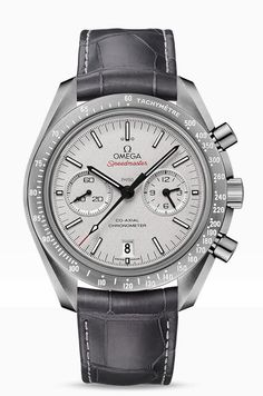 Omega Speedmaster Moonwatch Co-Axial Chronograph Grey Side of the Moon