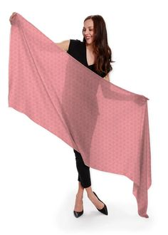 Blush Beauty, Fiery Red, Summer Scarves, Cashmere Scarf, Silk Scarves, Pattern Fashion, How To Wear, Shopping, Beautiful