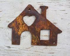 House 1 #rustichouse #housesign #uniqueart #signparts #farmhouse #customdecor