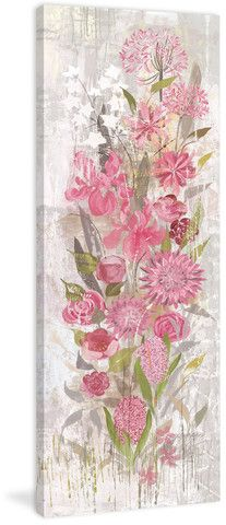 Floral Frenzy Soft Pink II - Marmont Hill