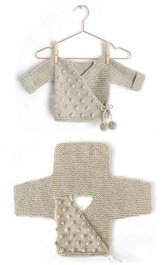 Kimono Jacket - Free Pattern (Beautiful Skills - Crochet Knitting Quilting) - K., anleitungen kostenlos baby jacke Kimono Jacket - Free Pattern (Beautiful Skills - Crochet Knitting Quilting) - K. Baby Knitting Patterns, Knitting Stitches, Baby Patterns, Free Knitting, Crochet Patterns, Crochet Ideas, Crochet Tutorials, Free Sewing, Afghan Patterns