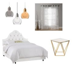 Girly by malineiksa on Polyvore featuring polyvore, interior, interiors, interior design, home, home decor, interior decorating, Nuevo and Duck River Textile