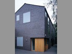 Maccreanor Lavington - Highgate Houses, with aluminium-clad windows by Wood Window Alliance member, Velfac.