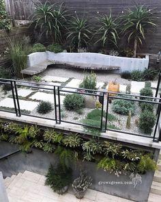 Home Landscaping, Small Garden Design, Exterior, Sculpture, Landscape, Nice, Green, Plants, Backyards