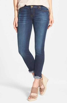 KUT from the Kloth 'Catherine' Boyfriend Jeans (Easily) (Regular & Petite)