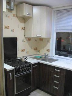 Ремонт своими руками и дизайн Г-образной кухни 5,5 кв.м (18 фото)