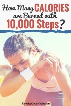 Taking 10,000 steps a day will burn a different amount of calories for you than it does for me, depending on your walking pace, weight, and age. See the averages and discover the variables to answer the question of how many calories are burned in walking 10,000 steps in a day.