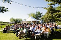 Outdoor Wedding Ceremony in Red Lodge, Montana
