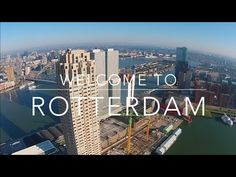 YouTube Rotterdam  by drone