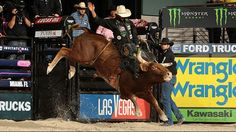 Professional Bull Riders - Mauney wins third consecutive BFTS event Professional Bull Riders, Bad To The Bone, Bull Riding, Rodeo, Victorious, Ford, Horses, Animals, Sports