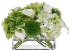 Image result for artificial flower arrangements with hydrangeas