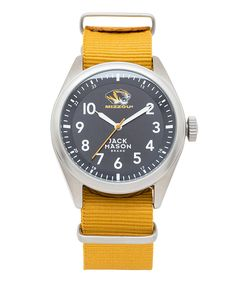 Look at this Missouri Tigers Gold NATO-Strap Watch on #zulily today!