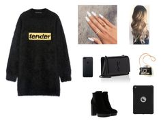 """""""street style"""" by pauline02 ❤ liked on Polyvore featuring Alexander Wang, Hogan and Yves Saint Laurent"""