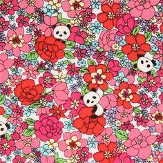 http://www.kawaiifabric.com/en/p11307-colorful-flower-panda-animal-cotton-fabric-from-Japan.html