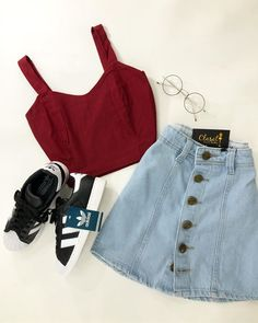 Lularoe Fashion Tips Teenage Girl Outfits, Teen Fashion Outfits, Teenager Outfits, Girly Outfits, Mode Outfits, Retro Outfits, Outfits For Teens, Fashion Ideas, Fashion Tips