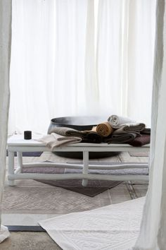 Vivaraise towels from Le Patio. Home Textile, Towels, Textiles, Contemporary, Lifestyle, Table, Furniture, Design, Home Decor