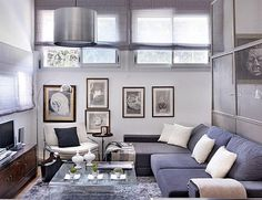 Great use of a cosy space.