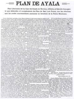 Emiliano Zapata, Noviembre 28 de 1911