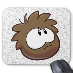 Brown Puffle. Regalos, Gifts.