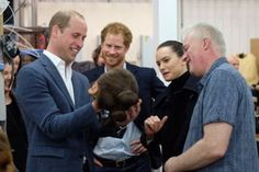 Princes William and Harry took a tour of the Star Wars set at Pinewood studios, meeting stars John Boyega, Daisy Ridley, Mark Hamill – and Chewbacca Prince Harry Of Wales, Prince William And Harry, Prince Charles, Star Wars Set, Star Wars Film, Daisy Ridley, Mark Hamill, Chewbacca, 19 Avril
