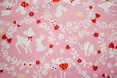 Cosmo Forest Friends---need to find source for this fabric...so cute