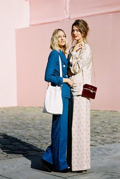 Paris Fashion Week SS 2014....Luisa and Antonine - Vanessa Jackman