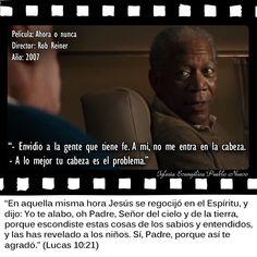 #CitasDePeliculas #CineYBiblia #AhoraONunca