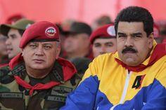 Venezuela's President Nicolas Maduro Diosdado Cabello