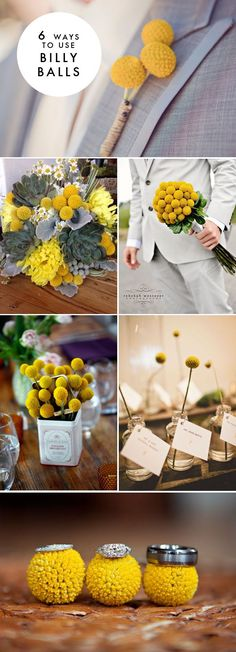 6 ways to use billy balls at your wedding