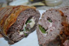 Babbi e le Palle di Pelo: Polpettone farcito Meatloaf, Sandwiches, Finger Sandwiches
