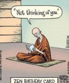 Zen Buddhism | Zen buddhism comic pictures www.meditationinspires.com/ #funny #cartoon #lol #spiritual #humor http://www.shivohamyoga.nl/