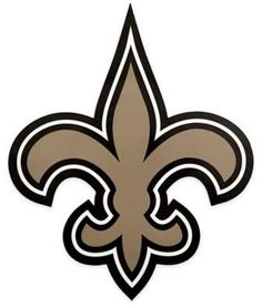 NFL New Orleans Saints Outdoor Large Primary Logo Graphic Decal