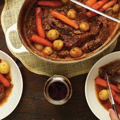 Boeuf braisé à l'italienne Healthy Food Essay, Healthy Food Quotes, Healthy Cooking, Slow Cooker Recipes, Beef Recipes, Italian Recipes, Cooking Recipes, Healthy Recipes, Cooking Stuff